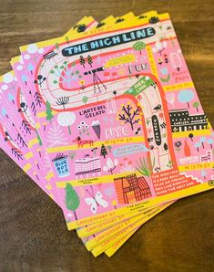 Minted Artists Connect at National Stationery Show 2016 Graphic Design Posters, Graphic Design Illustration, Graphic Design Inspiration, Typography Design, Kids Graphic Design, Map Design, Layout Design, Pattern Design, Print Design