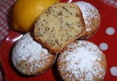 Citronovo-makové muffiny Sweet And Salty, Amazing Cakes, Cooker, Sweet Tooth, Food And Drink, Cupcakes, Sweets, Bread, Cheese