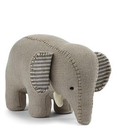 Elephant Plush toy for babies or little kids / Ellie Elephant soft toy / Peppa Penny online homewares store Baby Toys, Kids Toys, Unisex Gifts, Grey Elephant, Craft Show Ideas, Baby Rattle, Stylish Kids, Kids Decor, Dinosaur Stuffed Animal