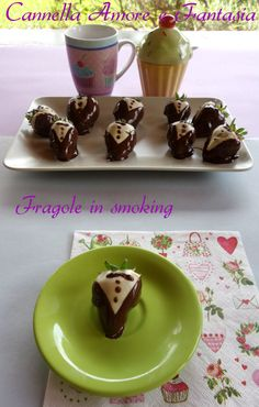Le fragole in smoking