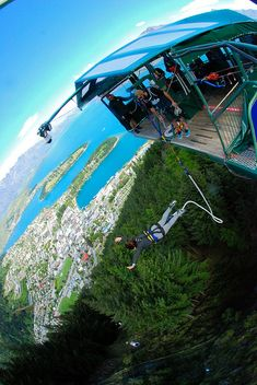 Completing the Bungee Jumping Trifecta in Queenstown, new Zealand