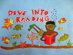 Island Dispatches : Under the Sea Mural at Calibishie Primary School