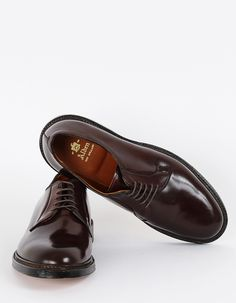 """Oxblood"" Do i need to say more? Alden Cordovan Derby Shoe"