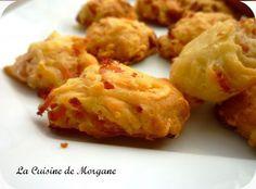 Cookies jambon et emmental - La cuisine de Morgane