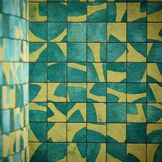 Summer // Girandole // Fabric Mosaics from Fortuny #design #fabric #beauty #color
