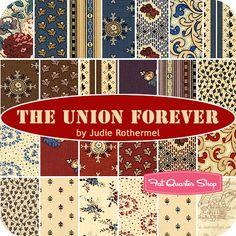 The Union Forever Fat Quarter Bundle Judie Rothermel for Marcus Brothers Fabrics - Fat Quarter Shop