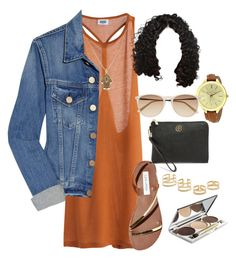 """""""Untitled #44"""" by erin-renee4 on Polyvore featuring MTWTFSS Weekday, Acne Studios, Steve Madden, Chantecaille, Jeweliq, Tory Burch, Alex and Ani, Michael Kors and Witchery"""