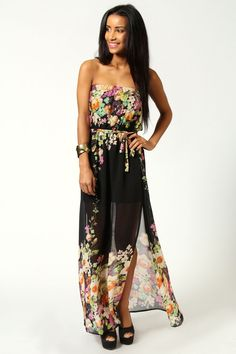 this is just a different and pretty maxi dress - makes me want to go on vacation - seems perfect for the beach or a cruise!