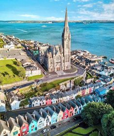 In April the RMS Titanic set sail from Southampton, en route to New York City. But before heading out to the open ocean,… Cobh Ireland, Places To Travel, Places To Go, Southampton England, Visit Dublin, Landscape Concept, Landscape Edging, Ireland Landscape, Set Sail