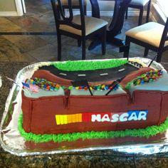 Race Track Cake....
