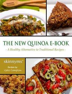 We can't get enough of quinoa recipes, especially with the different ideas in this recipe eBook.