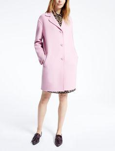 Max Mara FIORINA lila: Abrigo de lana.