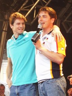 John Barrowman and his husband Scott Gill