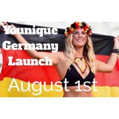 Younique launches in Germany on August 1st! Ladies this is HUGE!! Germany is the 3rd largest market in the world for premium mascara! Think about the amazing opportunities for being one of the first presenters in your country?! I'm so excited about this. Any German ladies interested for more information let me know, you can officially join me on this amazing journey very soon! YouniquelyAmandaChristine.com