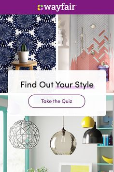Sign up for Wayfair now for huge savings and more inspiration on home renovation products for your bathroom, kitchen, living room, and more. Your dream home is one upgrade away. Bohemian Apartment Decor, Kitchen Living, Living Room, Room Wall Painting, Awesome Bedrooms, Home Renovation, New Homes, Room Decor, Interior