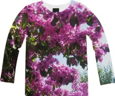 Garden Party Long Sleeve Tee from Print All Over Me