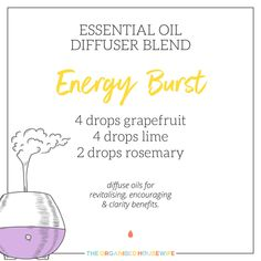 diffuse for calming, uplifting, healing and energising benefits. 💧 3 drops lavender - to ease feelings of tension 💧 1 drop rosemary - helps maintain concentration 💧 2 drops tea tree - purifying qualities 💧 2 drops geranium - uplift your mood Thyme Essential Oil, Essential Oil Diffuser Blends, Doterra Oils, Doterra Essential Oils, Diffuser Recipes, Aromatherapy Oils, Healing Oils, Happiness, Young Living