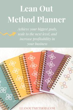 The only planner designed exclusively for small business owners and entrepreneurs, with a proven method to help you achieve your biggest goals, scale to the next level, and increase profitability!   #businessplanner #smallbusinessplanner #businessplanning #planneraddict #entrepreneurplanner #achieveyourgoalsplanner Business Planner, Business Tips, Online Business, Boss Babe Entrepreneur, Planner Organization, Organizing, How To Lean Out, Be Your Own Boss, Business Inspiration