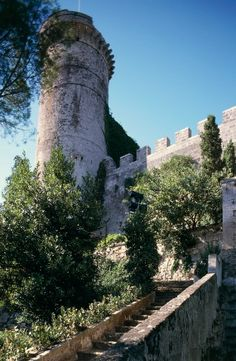 Cylindrical tower of Oria Castle, 13th century, Apulia, Italy