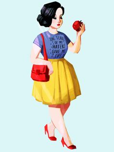 Wall paper funny disney snow white 17 ideas for 2019 Disney Princess Fashion, Disney Style, Disney Fashion, Alternative Disney Princesses, Snow White Disney, Fanart, Twisted Disney, Princess Art, Modern Disney