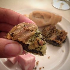 Erbazzone is essentially a savory spinach pie from the Emilia Romagna region of Italy - Instagram by thetravelbite