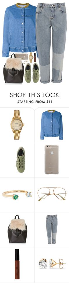 """Fashion Forward Bum"" by oh-aurora ❤ liked on Polyvore featuring Rolex, Filles à papa, adidas, Case-Mate, Delfina Delettrez, Topshop, Karen Millen and Lord & Berry"