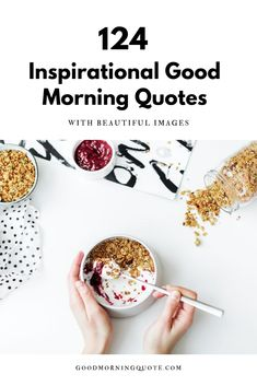 Start your day right with these inspirational good morning quotes with images. These positive quotes are guaranteed to cheer you up, no matter what kind of day you are facing. Be inspired!