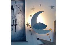 Monlitcabane Solid Pine, Solid Wood, Toddler Bedroom Sets, Ciel Pastel, Croissant, Bed Base, House Beds, Wood Beds, Photo Lighting
