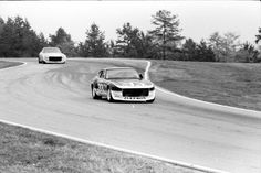 Bob Sharp Racing 280Z at Road Atlanta at the SCCA Runoffs this is starting into the downhill esses.