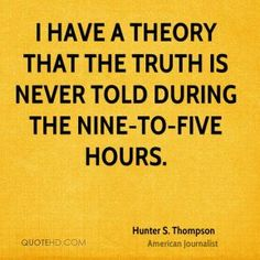hunter s thompson quotes on love - Google Search