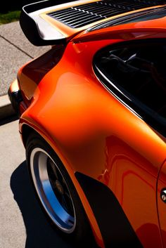 fabforgottennobility:  ICON motoriginal:  Orange Turbo baby.