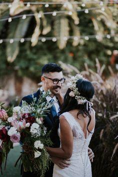 Indigo and Copper Bohemian Wedding at Casino San Clemente