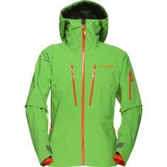 Norrøna lofoten Gore-Tex Pro jakke dame - Skalljakke for ski og snowboard Lofoten, Gore Tex, Skiing, Hooded Jacket, Active Wear, Jackets For Women, Clothes, Snowboard, Style