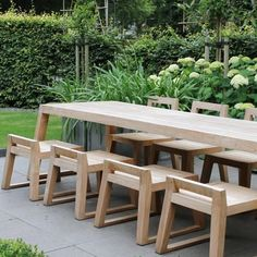 Teak Outdoor Garden Furniture is made from the teak tree discovered in the tropical area of Javanese. Most companies that build teak outdoor garden furniture. Twig Furniture, Painting Wooden Furniture, Outdoor Garden Furniture, Urban Furniture, Outdoor Decor, Antique Furniture, Recycled Furniture, Luxury Furniture, Furniture Design