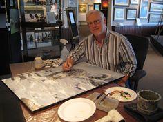 Artist Terry Isaacs