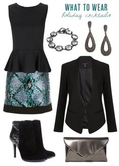 What to wear for holiday cocktails | The Sweetest Occasion