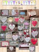 Photo welsh themed plaques and signs