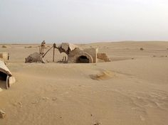 Eerie Pics Show Tunisia's Abandoned 'Star Wars' Sets