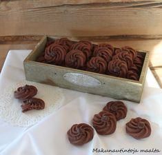 No Bake Cookies, Baking Cookies, Coffee Shop, Decorative Boxes, Food And Drink, Cupcakes, Vegan, Desserts, Recipes