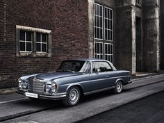 1971 Mercedes-Benz 280SE 3,5 Coupe - same age as me, but in way better shape!