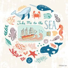 Take Me to the Sea - Wall Art assignment for MATS Bootcamp