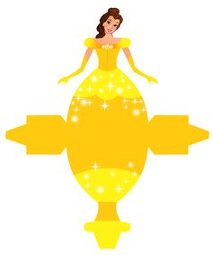 Caixa Vestido das Princesas da Disney!