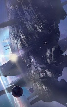 Stephan Martiniere | Big Ship (Book cover) | Stephan Martiniere