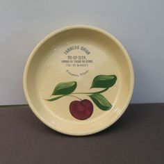 Watt apple pottery
