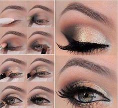 Step By Step Eye Makeup:).