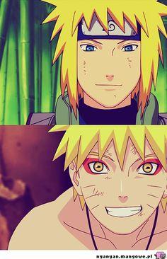 Minato & Naruto. <3