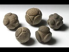 balls-Neolithic No one knows their origin, nor the people who made them, the less you know the usage. These strange artifacts are of symmetrical shape and made with a very sophisticated technique.