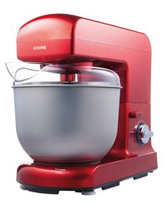 A classic Goldair stand mixer looking fabulous in a bold red.