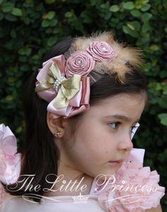 00124 Fascinator The Little Princess