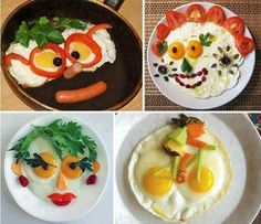 Pomysłowe śniadanie